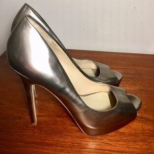 Aldo Shoes - ALDO Muted Gold Stilettos 8.5